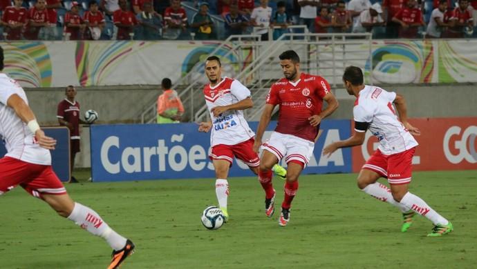 América-RN x Sergipe, na Arena das Dunas - Copa do Nordeste (Foto: Canindé Pereira/América FC/Divulgação)