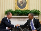 Obama pede 'Espanha forte e unida' em encontro com rei Felipe VI