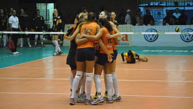 Campinas x São Bernardo - Superliga Feminina (Foto: João Gabriel / Globoesporte.com)