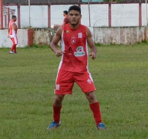 Chumbo, lateral-direito ex-Rio Branco-AC (Foto: Duaine Rodrigues)