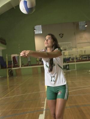 Luciane, Vôlei Feminino do Fluminense (Foto: Nelson Perez / Fluminense.com.br)