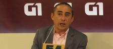 Sambaiba propõe fazer asfalto de borracha  (Jaqueliny Siqueira/G1)