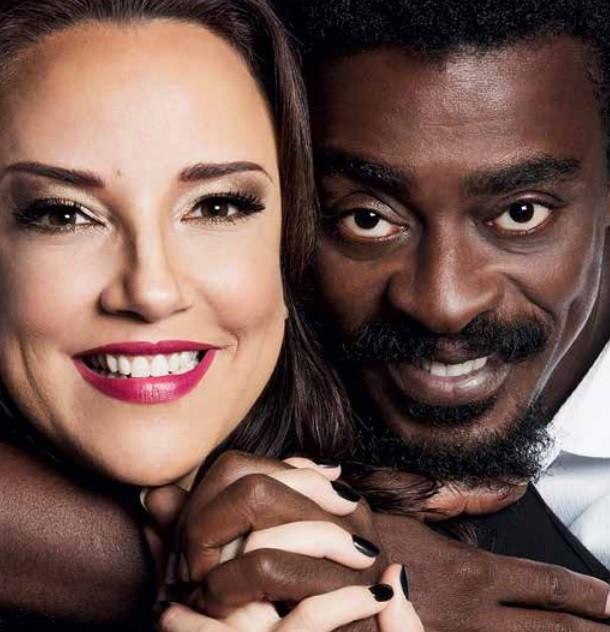 Ana Carolina e Seu Jorge vão sair em turnê a partir de abril (Foto: Leo Aversa/ Divulgação)