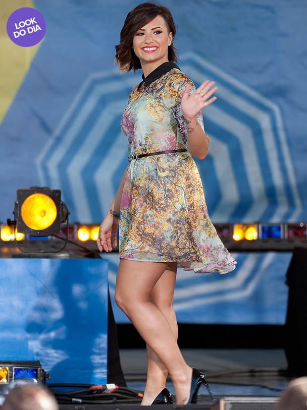 Look do dia - Demi Lovato (Foto: Getty Images)