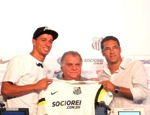 Leandro Damião e Alberto (Foto: Lincoln Chaves)