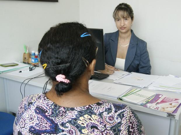 A Defensoria Pública atende mulheres vítimas de violência doméstica (Foto: Defensoria Pública\Divulgação)