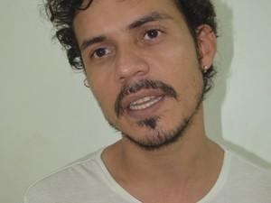 Ator Ton Rodrigues, 31 anos (Foto: Jorge Abreu/G1)