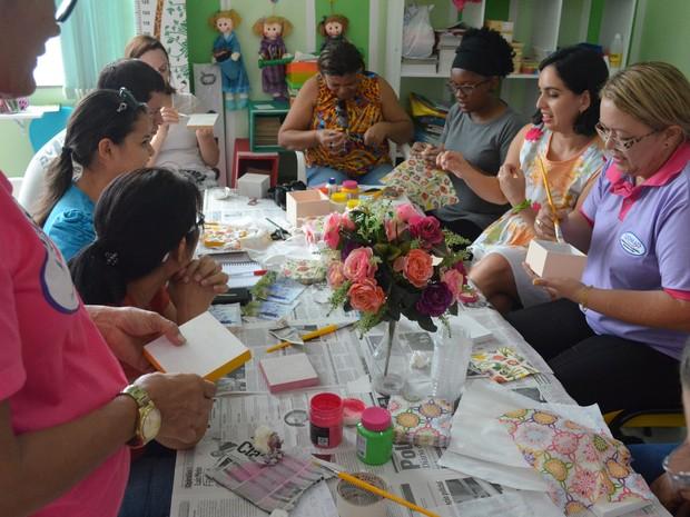 Ijoma, arteterapia, Macapá, Amapá, Brasil (Foto: Carlos Alberto Jr/G1)