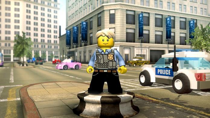 LEGO City Undercover terá uma cidade inteira de LEGO para jogadores explorarem no Nintendo Switch (Foto: Reprodução/Rocket Chainsaw)
