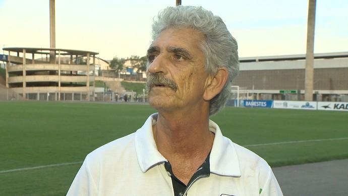 Zonaiker Ali Saleh, presidente do Rio Branco-ES (Foto: Reprodução/TV Gazeta)