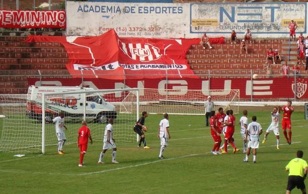 São Carlos x Noroeste - Série A2 (Foto: Brunara Ascêncio/EC Noroeste)