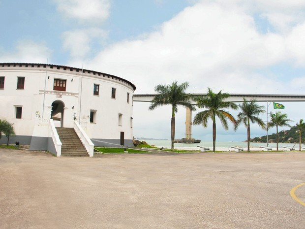 Forte de São Franscisco Xavier da Barra é aberto para visitação, no ES (Foto: Divulgação/ PMVV)