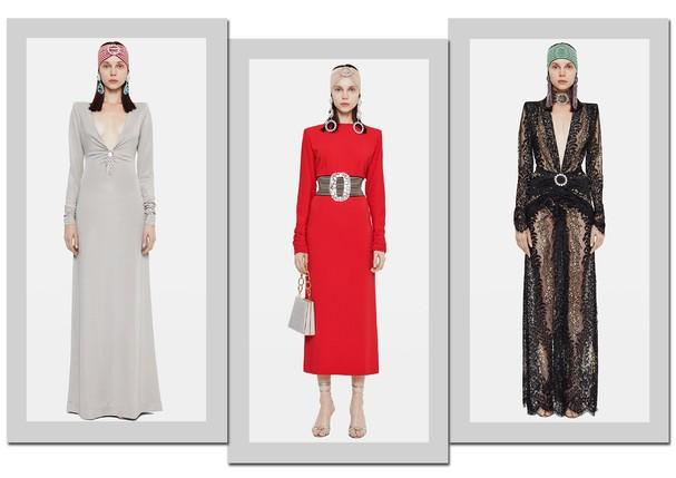 Looks de Alessandra Rich que chegam à NK Store (Foto: Arte Vogue Online)