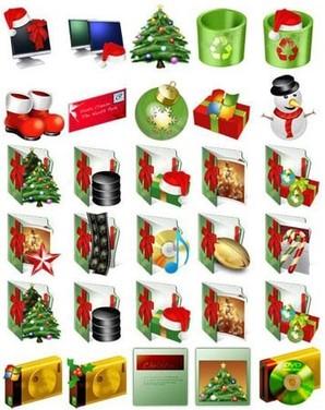 Pacote de ícones natalinos