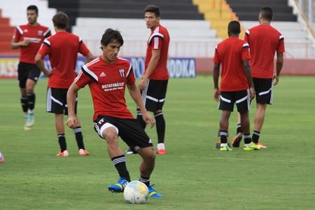 Gimenez, jogador do Botafogo-SP (Foto: Luis Augusto/Agência Botafogo)
