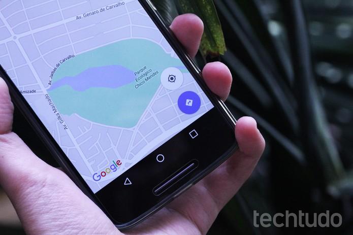 google maps android (Foto: Luciana Maline/TechTudo)