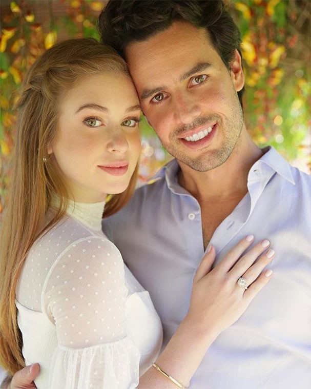 Marina Ruy Barbosa e Xandy Negrão se casam no civil (Foto: Reprodução/Instagram)