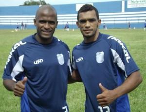 Thiago Maciel e Nardo no Goytacaz (Foto: Gustavo Rangel)