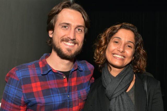 Igor Angelkorte e Camila Pitanga (Foto: Cristina Granato)