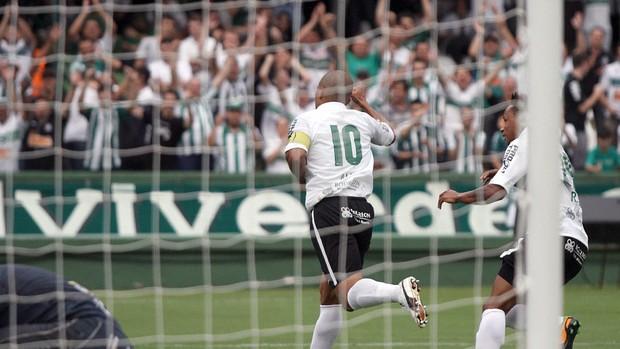 Alex gol Coritiba Cianorte Campeonato Paranaense (Foto: Divulgação/site oficial do Coritiba Foot Ball Club)