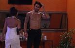 Renan beija pescoço de Juliana: 'Estou de boa'