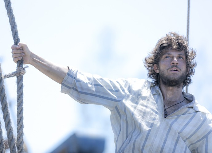 Chay Suede será Joaquim Martinho em 'Novo Mundo' (Foto: Ellen Soares/Gshow)