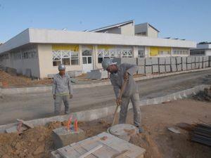 Trabalho na construção civil (Foto: Nestor Muller/ Divulgação Secom)