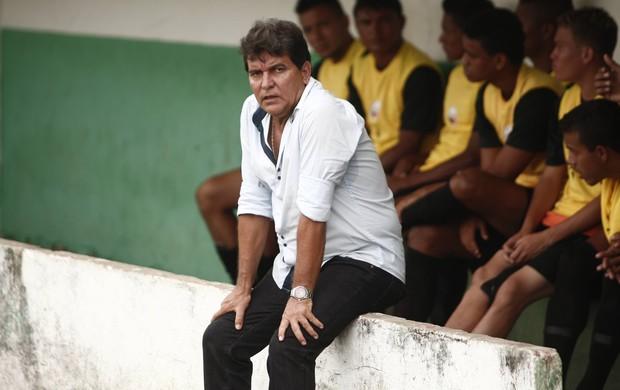 Técnico Zé Carlos admite a possibilidade do WO do Time Negra (Foto: Tarso Sarraf/O Liberal)