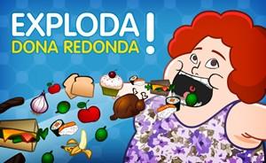 Confira o jogo da Redonda e faça ela comer até estourar (Saramandaia/TV Globo)
