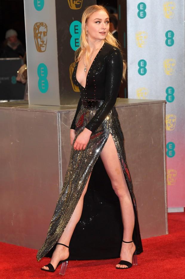Sophie Turner no BAFTA (Foto: Reuters agência)
