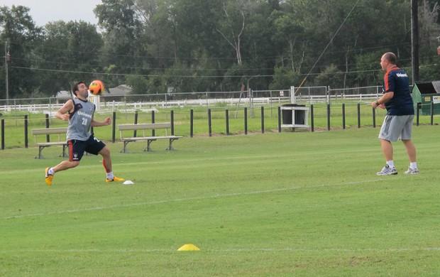 Deco treino Fluminense Orlando (Foto: Rafael Cavalieri)