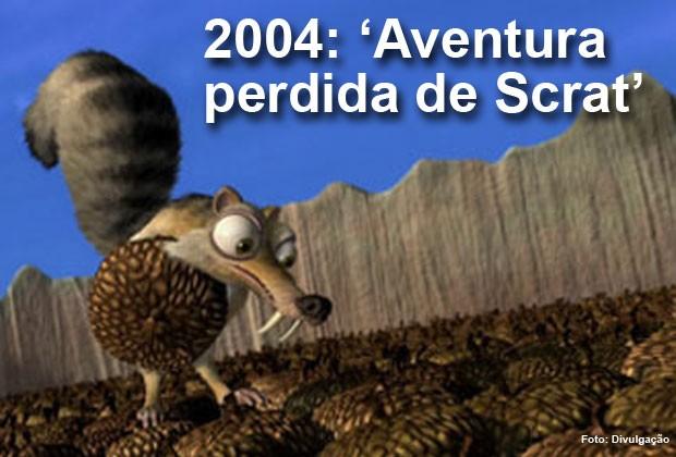 O filme 'Aventura perdida de Scrat', do brasileiro Carlos Saldanha, foi indicado ao Oscar de melhor curta-metragem de animação (Foto: Divulgação)