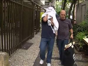 Operação da Polícia Civil prende cambistas no Rio (Foto: Reprodução)