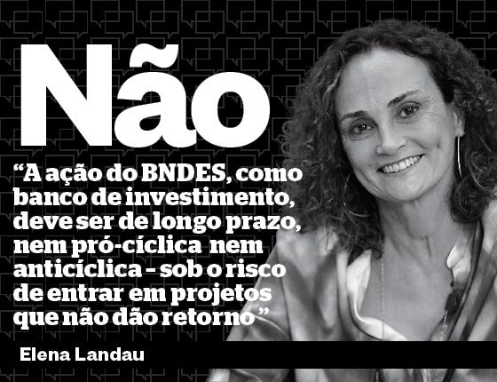 Elena Landau foi diretora do BNDES e responsável pelo Programa Nacional de Desestatização  do governo FHC. É presidente do Conselho da Eletrobras (Foto: Fernando Lemos/Agência O Globo)