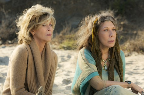 Jane Fonda (Grace) e Lily Tomlin (Frankie) (Foto: Netflix)
