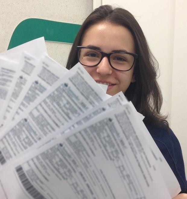 Estudantes reclamam de taxas de inscrição para vestibulares de medicina. (Foto: Vanessa Fajardo/G1)