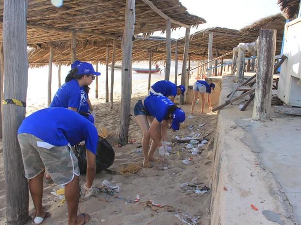 Material reciclável foi levado para uma sucata da região (Foto: Projeto Biomade/Divulgação)