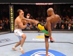 luta Combate Play Anderson Silva (Foto: Reprodução)