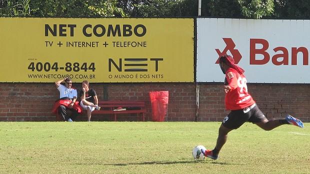 Vagner Love, Flamengo (Foto: Janir Júnior / Globoesporte.com)