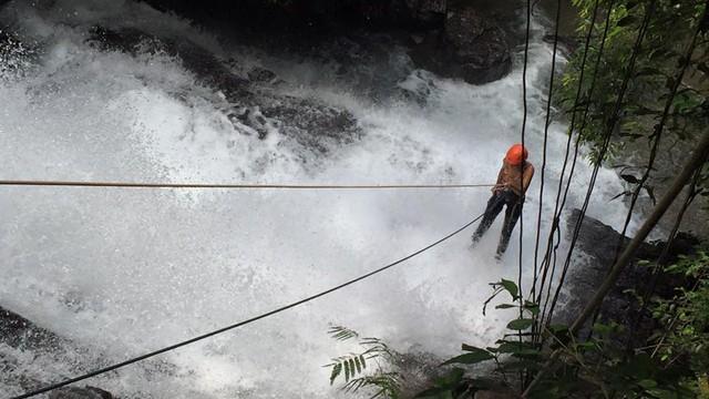 Rota do Sol faz um passeio pelas cachoeiras de Eldorado (Foto: Arquivo Pessoal/Rosana Valle)