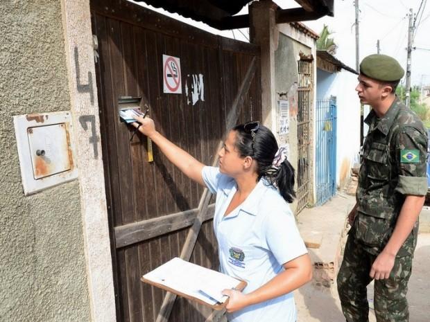 Exército reforçou ações de combate ao Aedes aegypti, em Campinas (Foto: Fernanda Sunega / PMC)