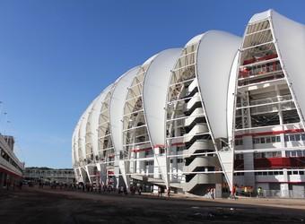 Estádio Beira-Rio antes de Inter x Atlético-PR (Foto: Diego Guichard)