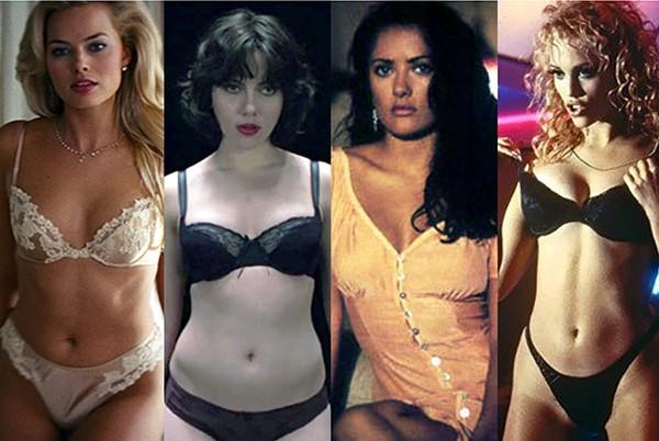 Margot Robbie, Scarlett Johansson, Salma Hayek, Elizabeth Berkley (Foto: Divulgação)