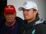 "Rosberg rebate Lauda: ""Se aposentou no meio de fim de semana de corrida"""