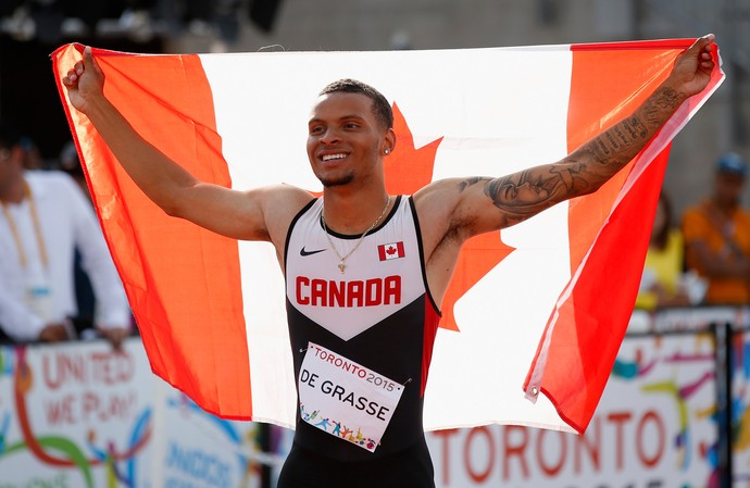 Andre De Grasse; Canadá; Jogos Pan-Americanos (Foto: Ezra Shaw/Getty Images)