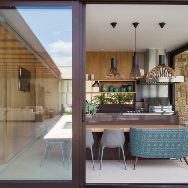 Uma casa para curtir a família (Foto: Fotografia   André Mortatti)