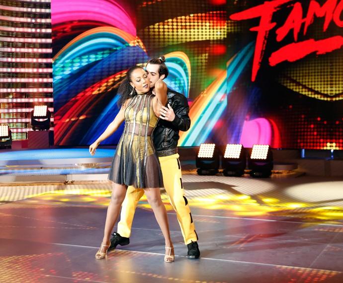Negra Li faz sua primeira apresentação no 'Dança dos Famosos' (Foto: Ellen Soares/Gshow)