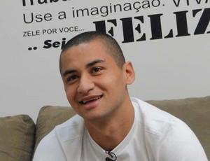 Wellington Paulista, atacante do Cruzeiro (Foto: Valeska Silva / Globoesporte.com)