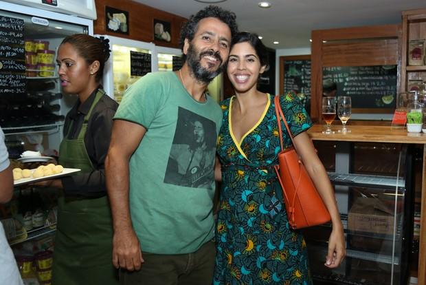 Marcos Palmeira e Bela Gil (Foto: Roberto Filho/Brazil News)