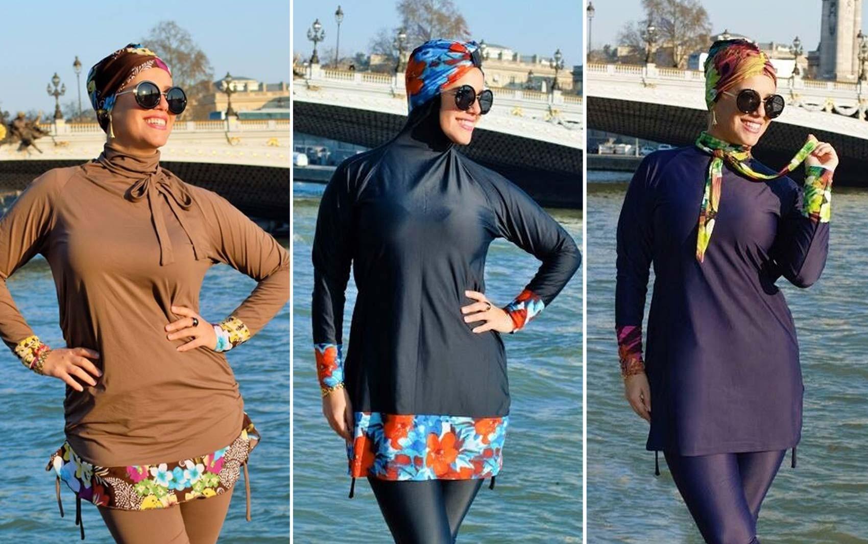 Modelos de burqunis feitos por brasileira na Frana variam de 84 euros a 125 euros cerca de R 304 a R 453 Foto Divulgao Madamme BK